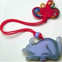 Rat Large Jade Necklace