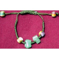 Dog & Rabbit Jadeite Bracelet