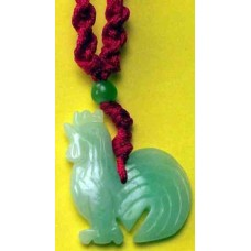 Jadeite Rooster Necklace