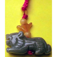 Jadeite Tiger Charm