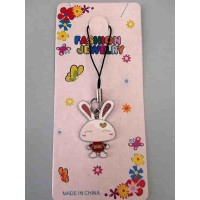 Tuzki Love Rabbit Phone Strap